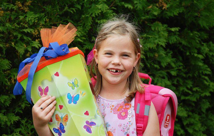 Basteltipps für eine tolle Schultüte | © panthermedia.net / Katja Beetz