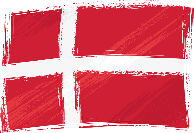 Dänische Flagge | © panthermedia.net / Dawid Krupa