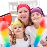 Weg mit dem Winterdreck – Frühjahrsputz mit Kindern